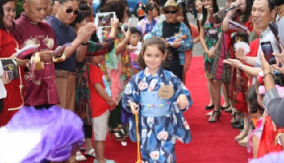Children Fashion Show at Chinese New Year Celebration in The Sultan Hotel & Residence Jakarta
