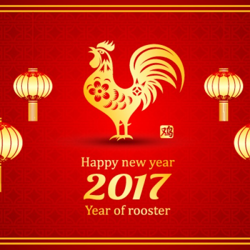 Celebrating the Year of Fire Rooster in Jakarta