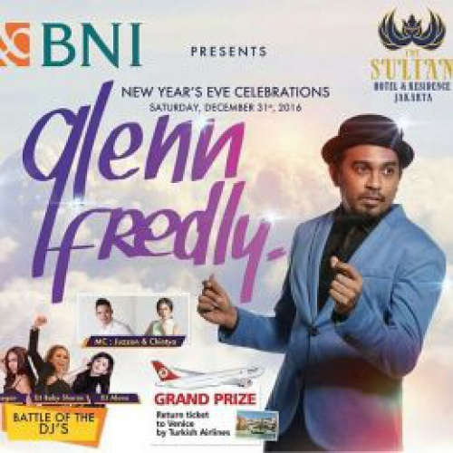 New Year's Eve 2017 Celebrations with GLENN FREDLY at The Sultan Hotel & Residence