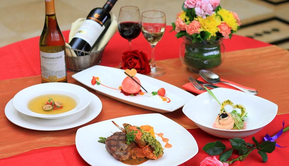 Valentine's Set Menu & New Signature Dishes at Lagoon Cafe