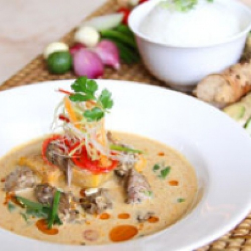 Thailand's Heritage Cuisine; MASSAMAN CURRY