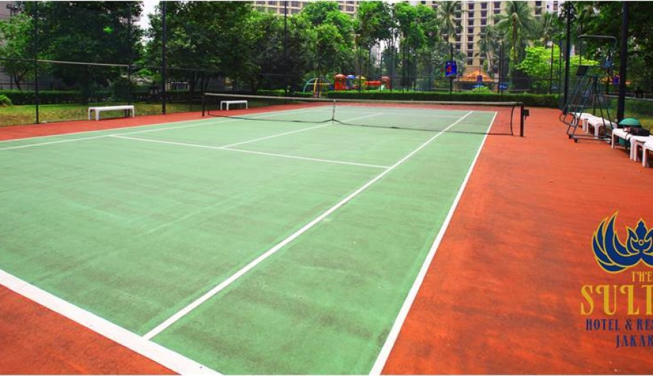 Tennis Court - The Sultan Hotel & Residence Jakarta